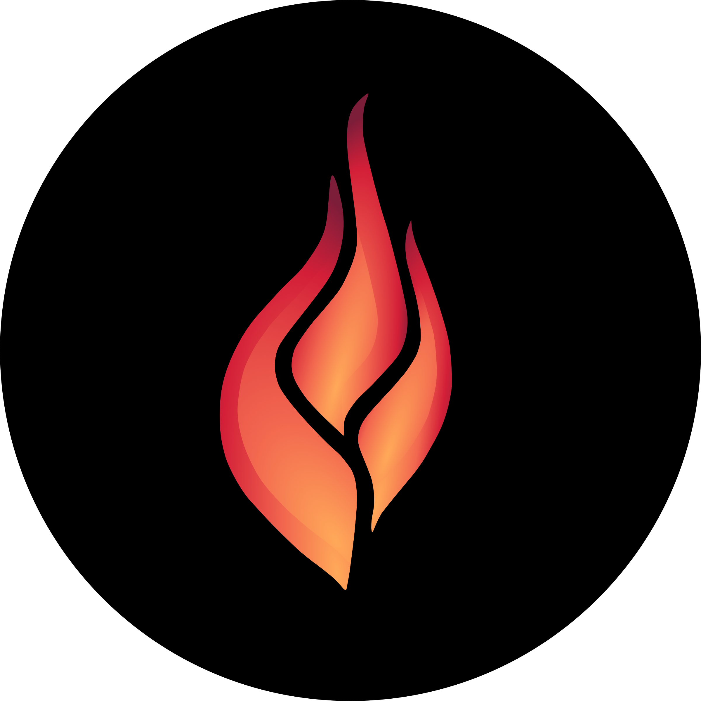 Ignite Student Ministries logo with 3 part flame